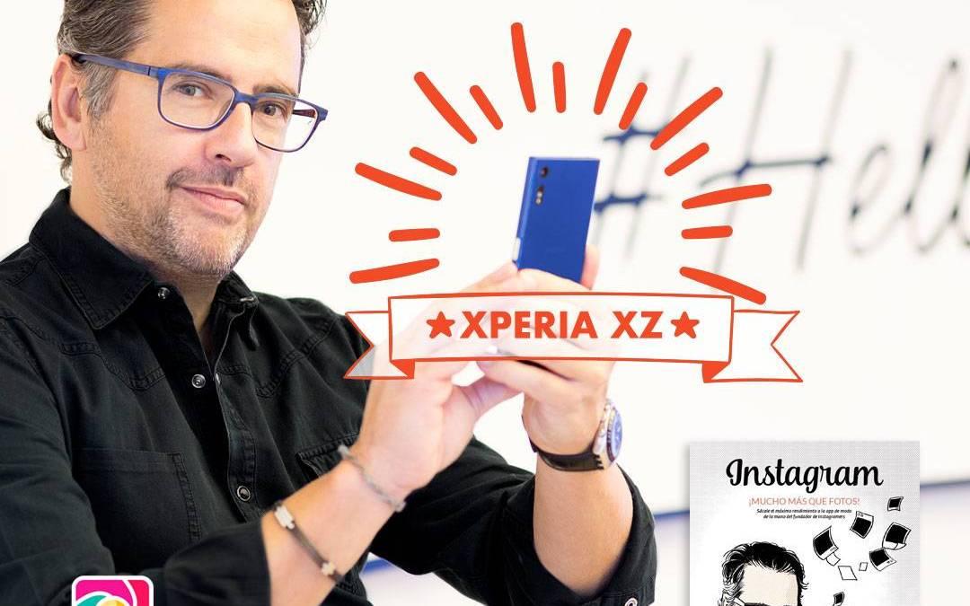 Gana el Sony Xperia XZ de Phil González con el concurso #muchomasquefotos en Instagram