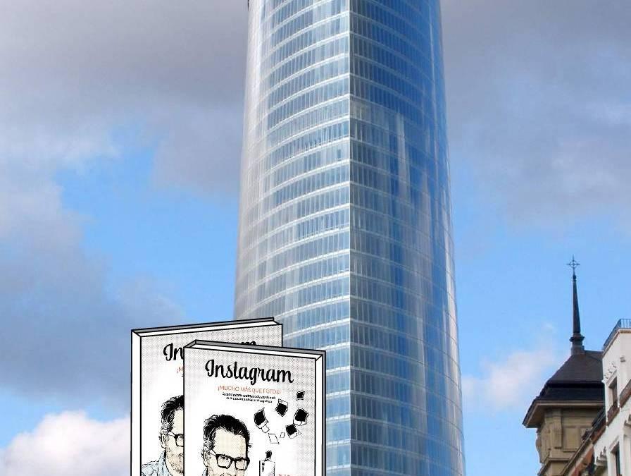 """Presentación del libro """"Instagram, mucho más que fotos"""" en Torre @iberdrola Bilbao"""
