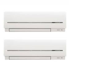 aire acondicionado mitsubishi electric 2X1
