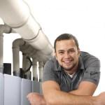 Collectieve rookgasafvoersystemen van Ubbink