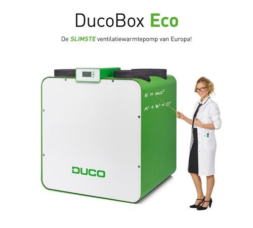 DucoBox Eco: uithangbord slimme ventilatie met warmteterugwinning