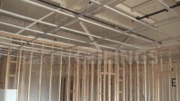 Install Drywall Suspended Ceiling Grid Systems - Drop ...