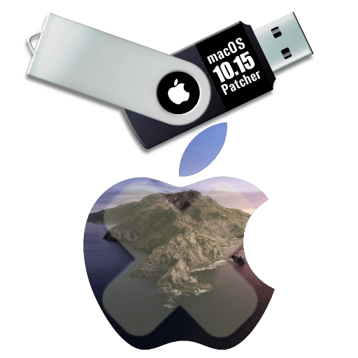 macOS 10.15 catalina patcher usb installer disk