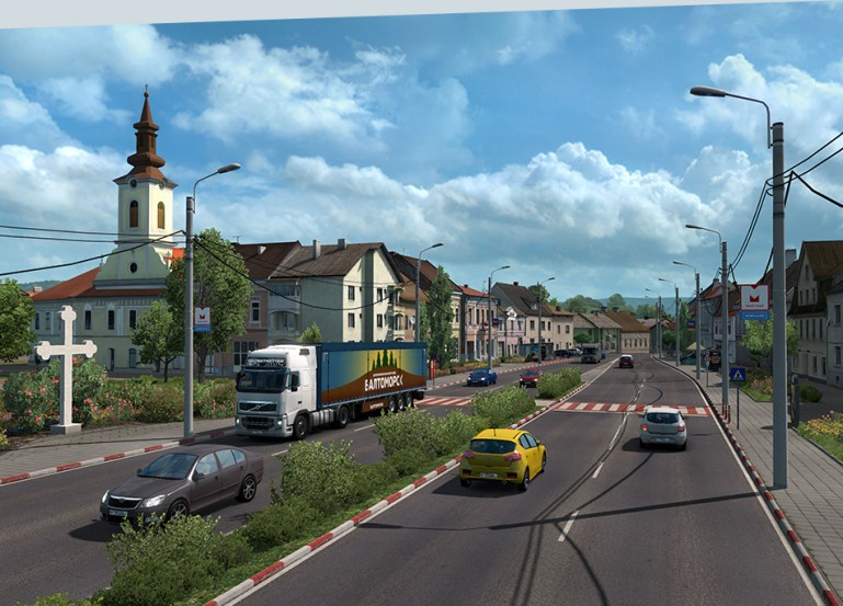 Euro Truck Simulator 2 Torrent Cd key + Latest Version Crack PC Game For Free Download