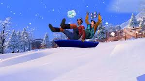 The sims 4 snowy escape Crack
