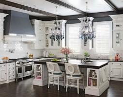 40 Beautiful White Luxury Kitchen Decor Ideas   Instaloverz