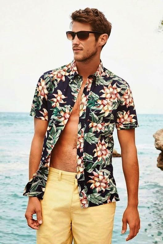 20 Dashing Beach Outfit For Men To Try  Instaloverz