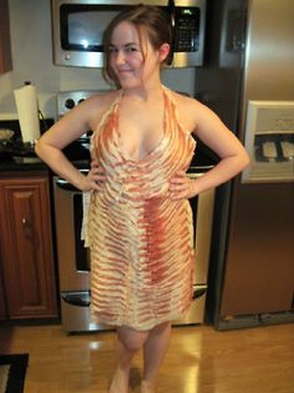 Halter neck bacon one piece
