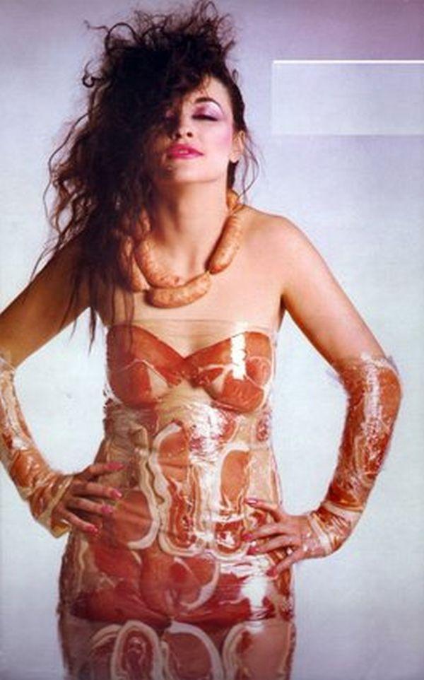The bacon off shoulder dress