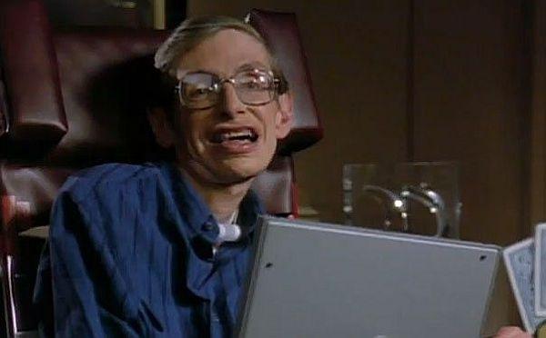 Stephen Hawkins as an actor