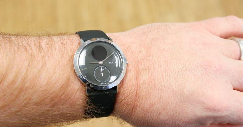 Withings Nokia Steel HR Hybrid Watch