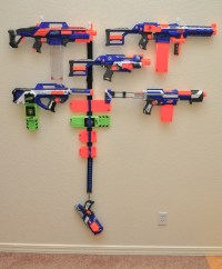 Nerf Gun Wall Mounts  InstaMorph