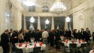 Gelegenheit zum Netzwerken gab die Abendveranstaltung im Ballsaal