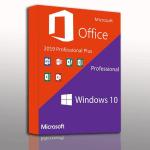 Windows 10 Pro + Microsoft Office 2019 Professional Plus Bundle