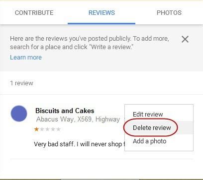 Remove Google Negative Reviews