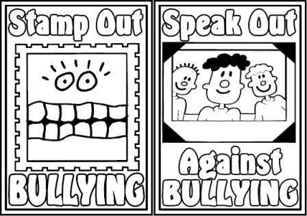 Free Printable Anti Bullying Colouring Pages