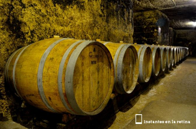 Barriles de vino.