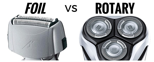 types of Electric shavers: Foil Vs Rotary shavers