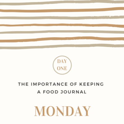 The Importance of Keeping a Food Journal- Day 1