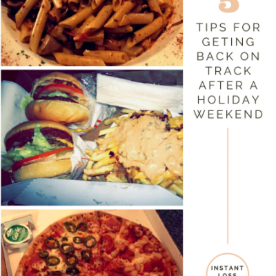 5 Tips for Getting Back on Track after a Holiday Weekend