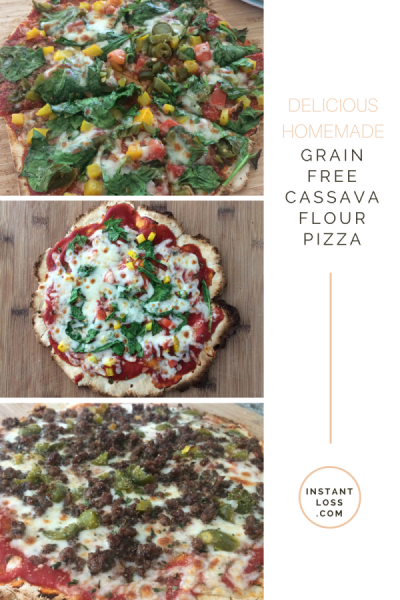 The Best Grain Free Pizza Crust Ever instantloss.com