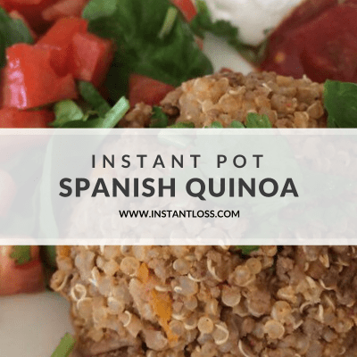 Instant Pot Spanish Quinoa