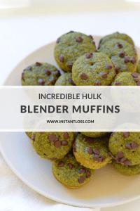 Incredible Hulk Blender Muffins instantloss.com