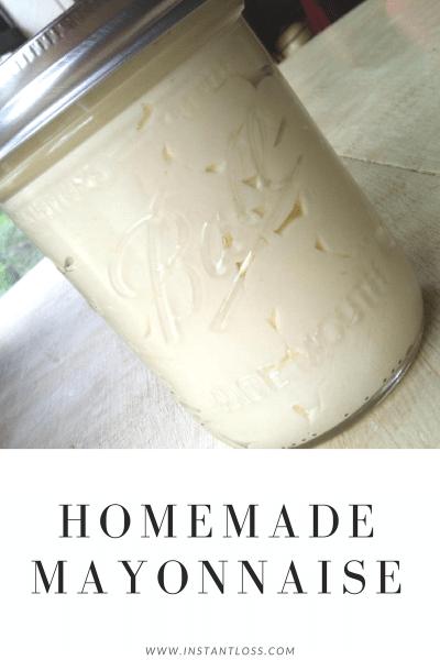 Homemade Mayo instantloss.com