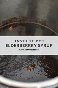 Instant Pot Elderberry Syrup and Homemade Gummies instantloss.com
