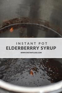 Instant Pot Elderberry Syrup and Homemade Gummies instantloss.com