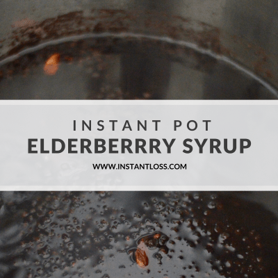 INSTANT POT ELDERBERRY SYRUP AND HOMEMADE GUMMIES