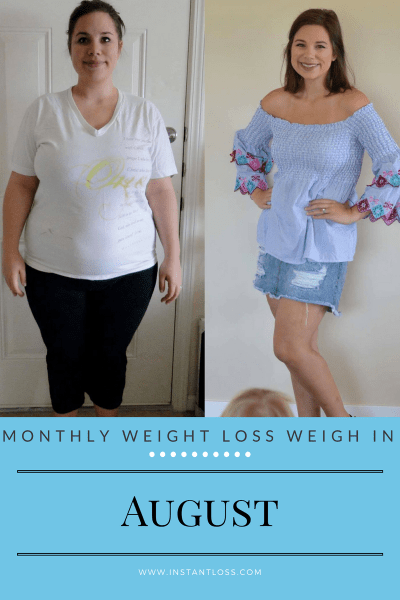 Monthly Weight Loss Weigh In instantloss.com