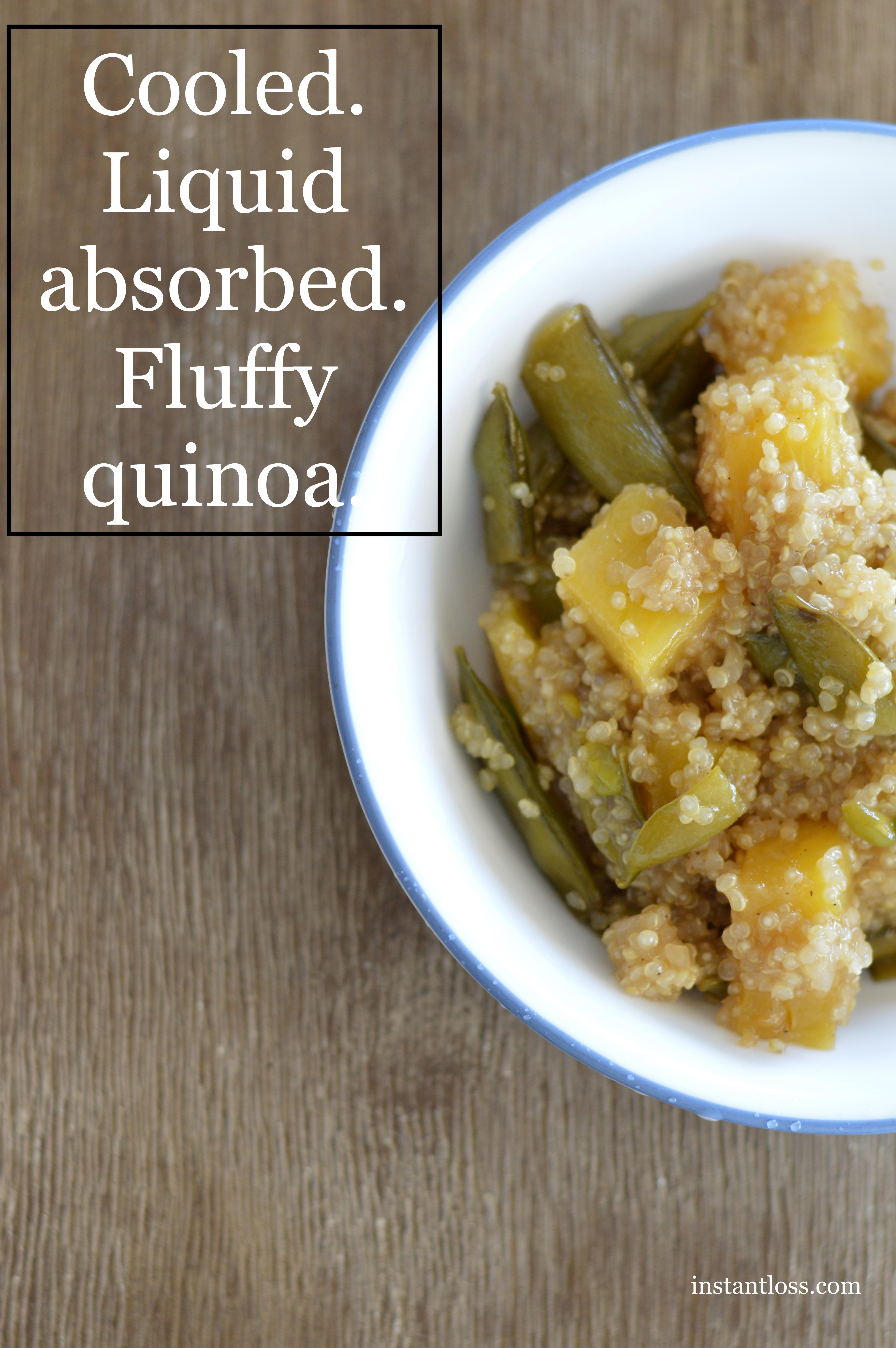 Instant Pot Pineapple Teriyaki Quinoa instantloss.com