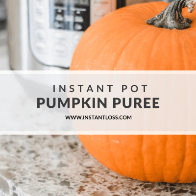 Instant Pot Pumpkin Puree (Use in place of canned pumpkin)