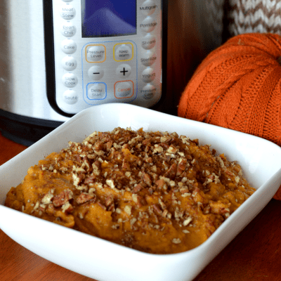 Instant Pot Clean Candied Eating Yams