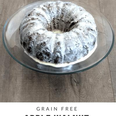 Grain Free Apple Pound Cake