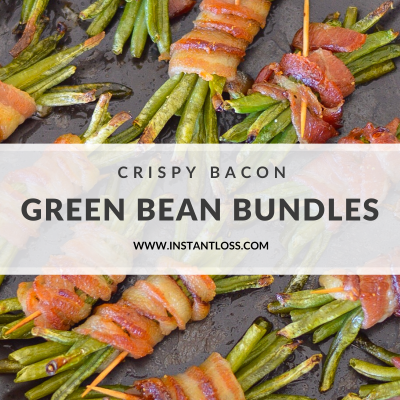 Crispy Bacon Green Bean Bundles