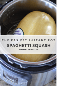 The Easiest Instant Pot Spaghetti Squash instantloss.com