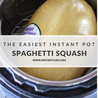 The Easiest Instant Pot Spaghetti Squash