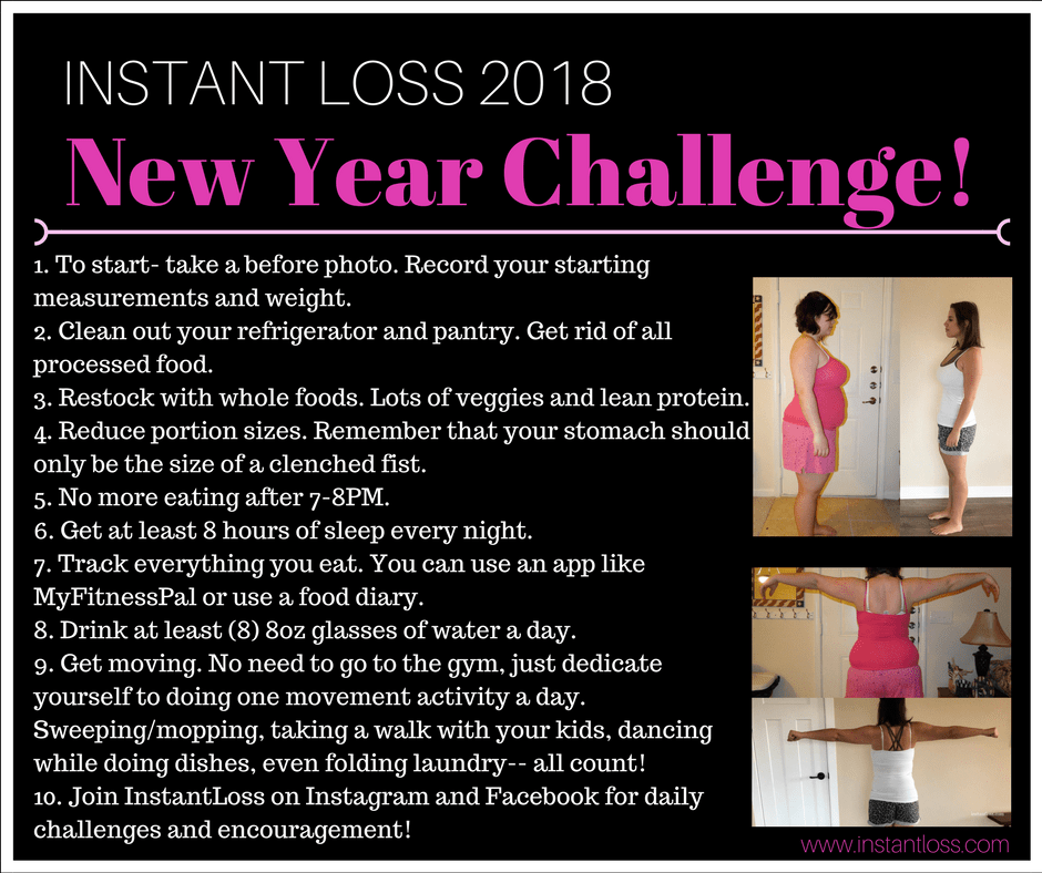 https://instantloss.com/2017/12/27/2018-instant-loss-new-year-challenge/