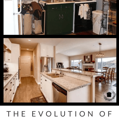 The Evolution of My Kitchen