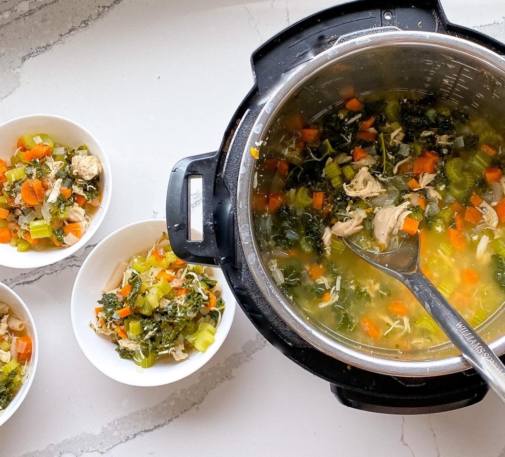5 Min. Low Carb Chicken Soup instantloss.com