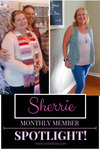 Sherrie Instant Loss Monthly Member Spotlight