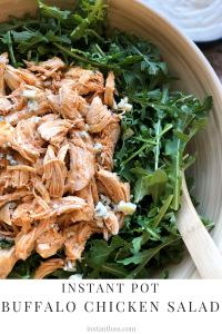 Instant Pot Buffalo Chicken Salad