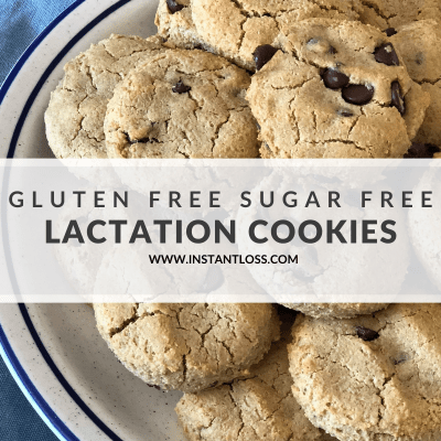 Gluten and Sugar Free Lactation Cookies