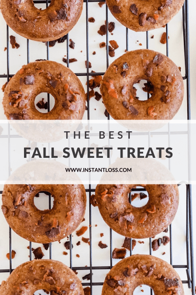 The Best Fall Sweet Treats instantloss.com