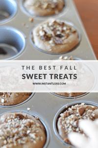 The Best Fall Sweet Treats instantloss.com