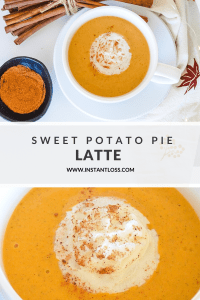 Sweet Potato Pie Latte instantloss.com