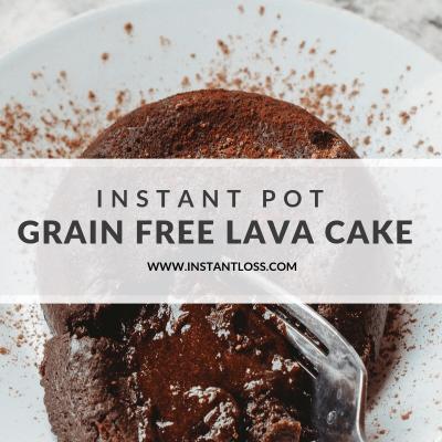 Instant Pot Grain Free Lava Cake