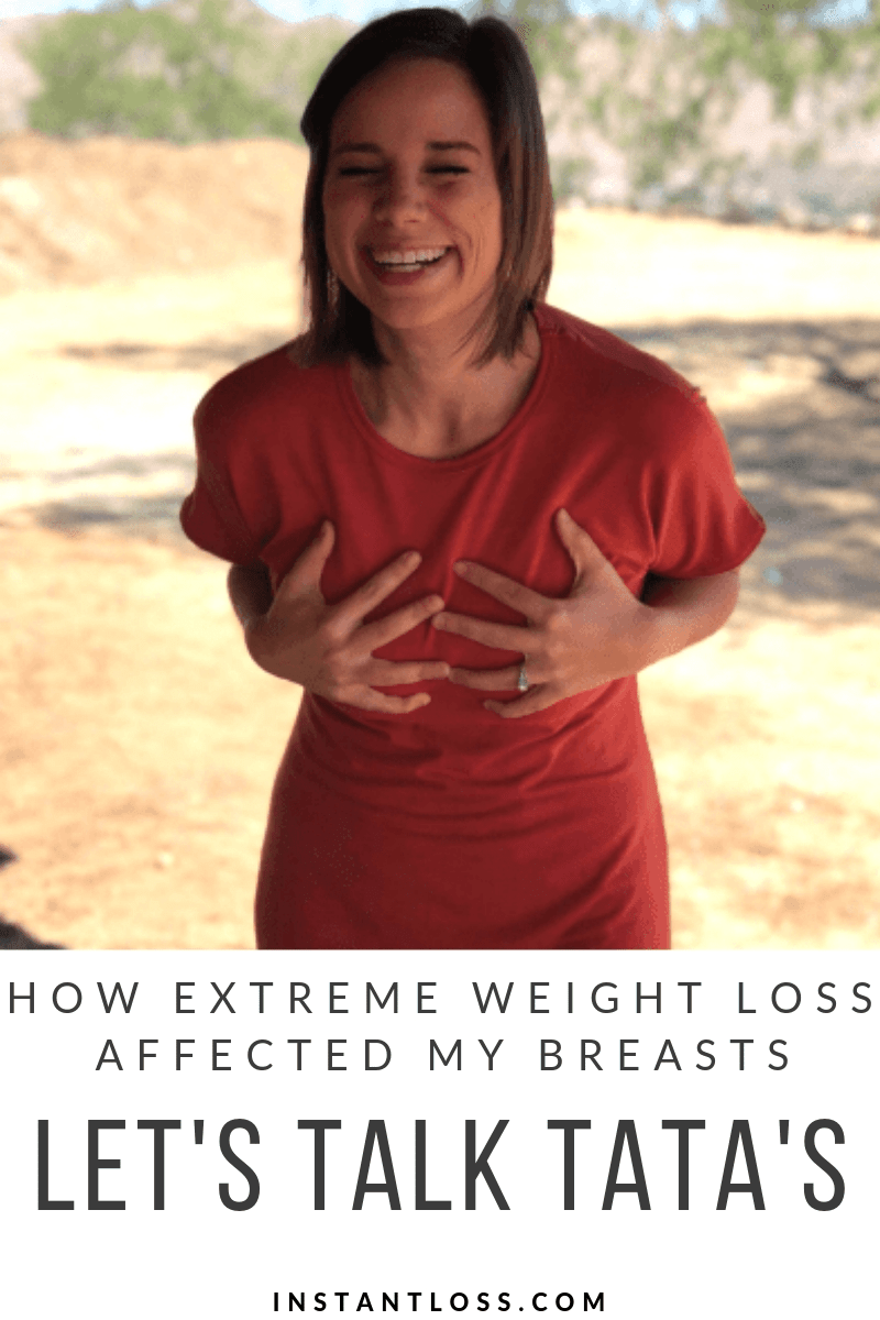 Let's Talk TaTa's: How Extreme Weight Loss Affected my Breasts